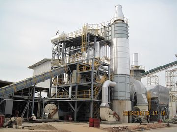 25 MW Biomass Waste Wood Hot Air Furnace / Waste Heat Boiler