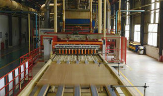 Rice Straw Particle Board Production Line High Productivity Panel 2440 x 1220 MM