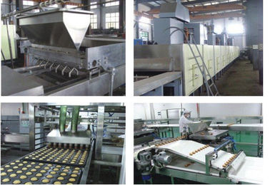 Professional Fully Automatic Custard / Cup Cake Production Line 46KW