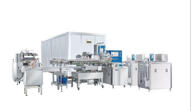 Professional Food Engineering Projects Automatic Ice Cream Production Line