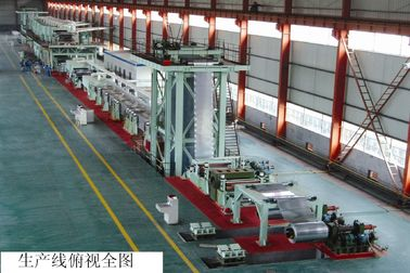 Continuous Building Materials Projects Hot DIP Galvanizing Line Zinc Galvanization Machine