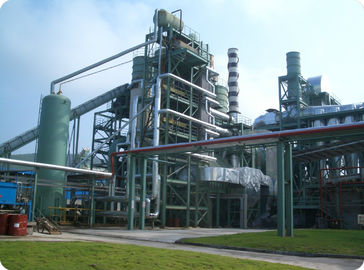 China 30 MW Biomass Waste Wood Power Plant / Hot Air Furnace / Waste Heat Boiler factory