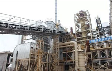 China 45MW Biomass Energy Plant / Wood Power Plant / Waste Heat Boiler factory