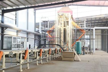 China Hardboard High Density Fiber Board HDF Production Line 2440*1220mm factory