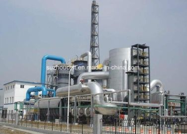 China 10-100 Kt/a Sulfur based Sulfuric Acid Plant / H2SO4 Production Line factory