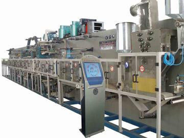 OEM Light Industry Projects Baby Diaper Making Machine Line / Diaper Production Line