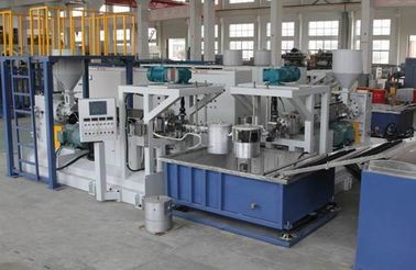 China Plastic Artificial Grass Making Machine Line / Plastic Grass Production Line factory